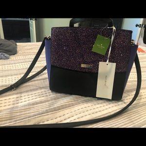 NWT. Kate Spade alisanne glitter handbag
